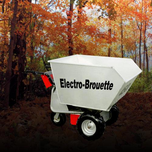 Brouette électrique Electro-brouette - VLC Europe