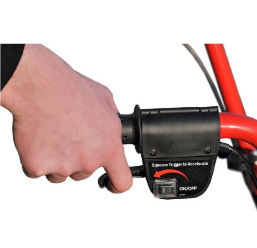 Brouette électrique bouton off/on - VLC Europe