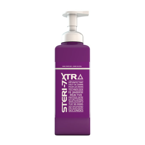 Steri 7 pour tous savon desinfectant 600ml - VLC Europe