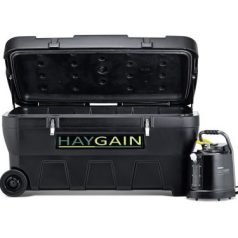 Haygain 2000 Purificateur de foin ouvert de face avec bouilloire - VLC Europe