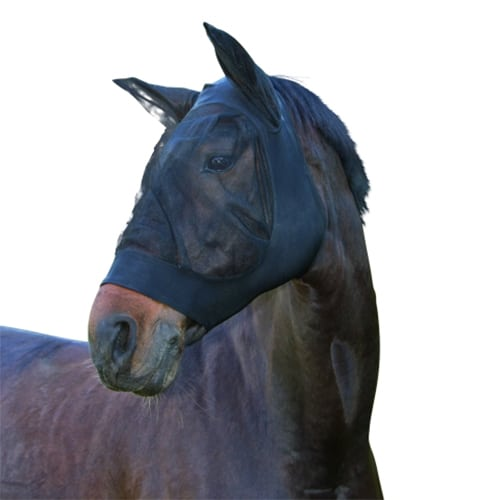 Masque anti-mouches stretch noir - VLC Europe