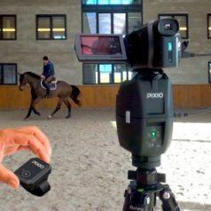 Robot Pixio dans un manege - VLC Europe