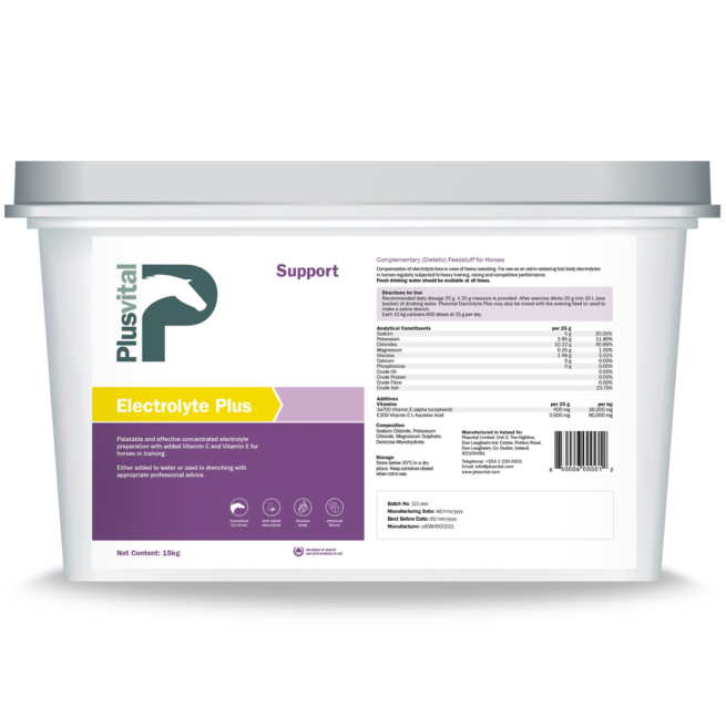 Plusvital Electrolyte-Plus 15Kg VLCEurope