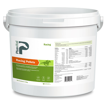 Plusvital Racing Pellets 4,5Kg VLC Europe