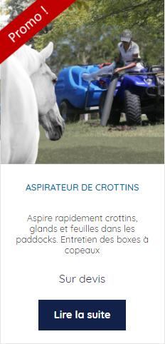 Promotion aspirateur de crottins