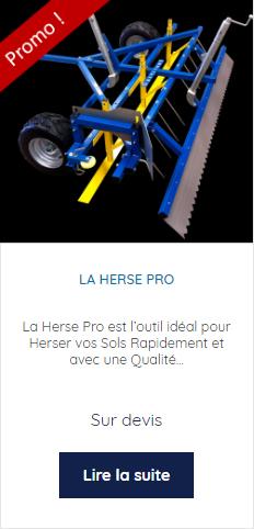 Promo la Herse Pro